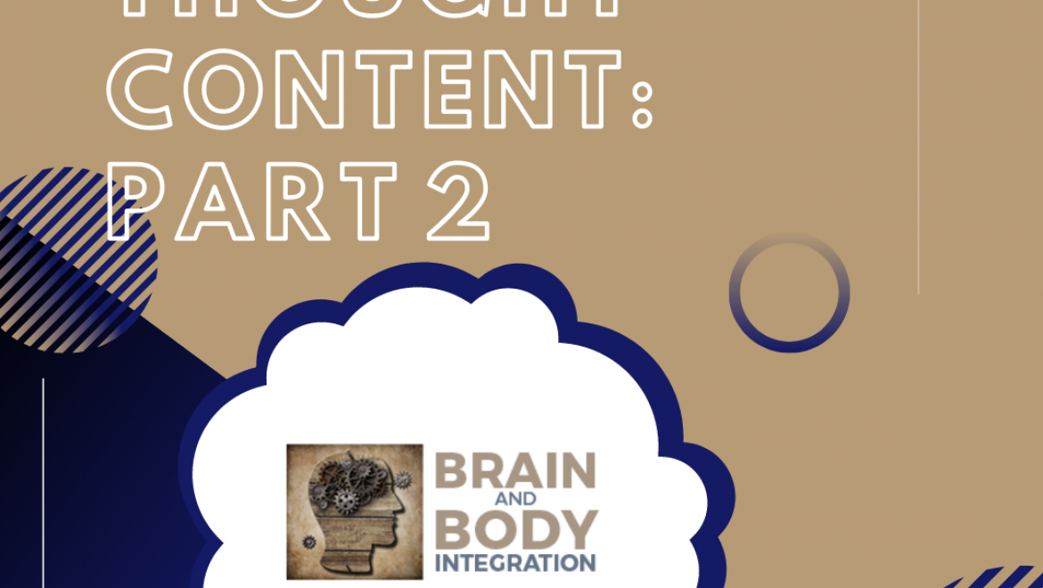 Assessing Thought Content: Part 2
